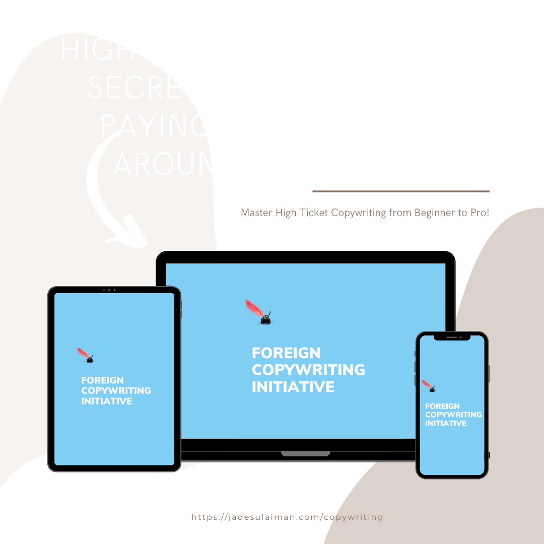copywriting withand